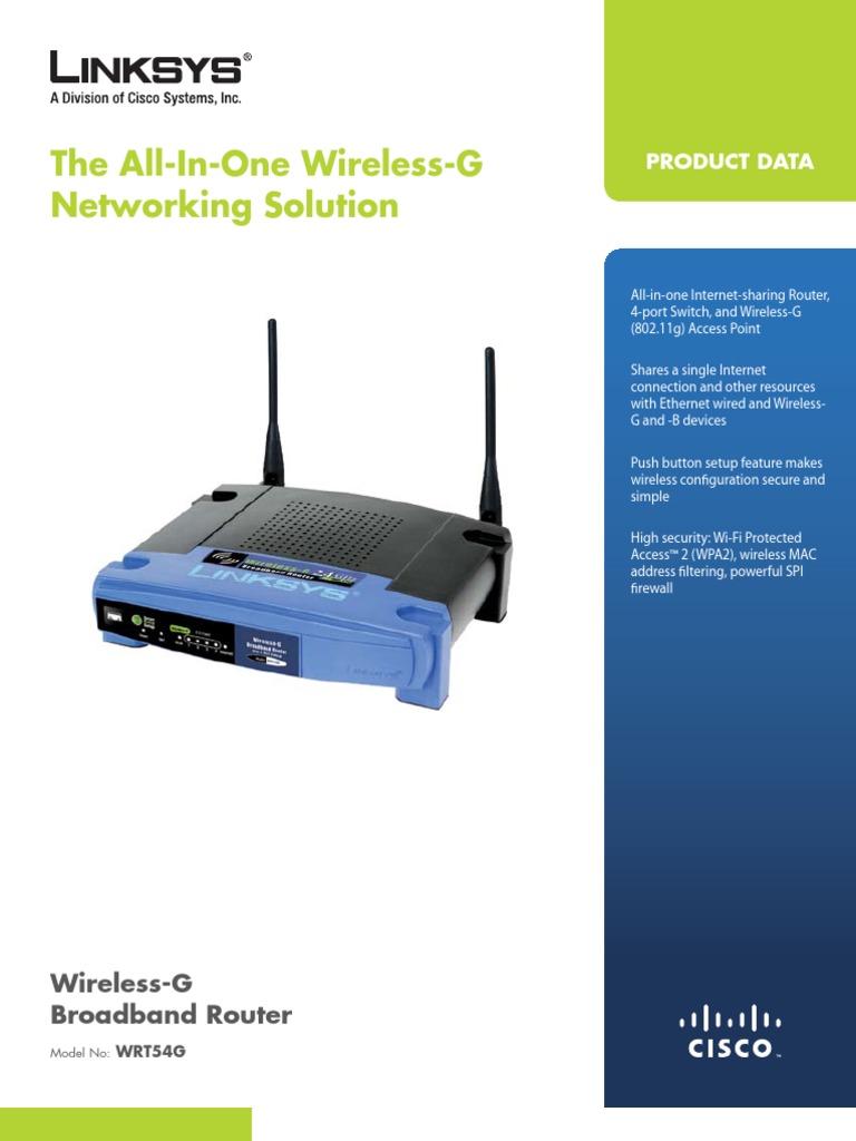 wrt54gv8-ds | Wireless Lan | Wi Fi
