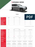 Montero Sport Diesel