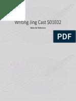 Writing Jing Cast S01E02