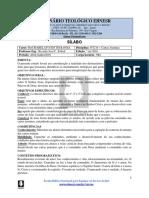 Sílabo NT214 Cartas Joaninas