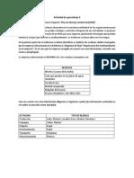Actividad de Aprendizaje 6 Evidencia 6 Proyecto Plan de Manejo Ambiental