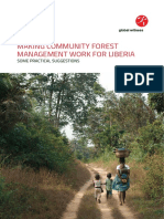 Global Witness Liberia Community Forestry Report