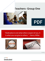 week 3 inspired teacher collaborative group presentation