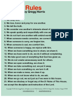20 RULES OF GIFT