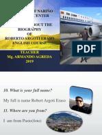 Biografia Roberto Argoti 2019