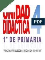 Unidad Didactica 4 Educacion Fisica