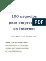100 Negocios Para Abrir na Internet.pdf