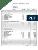 Rencana Anggaran Biaya (Rab) Pembuatan Rumah Subsidi