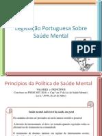 Legislação Portuguesa Sobre Saúde Mental