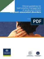 CPG - Whiplash Associated Disorders