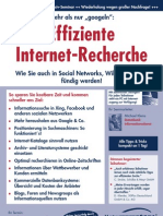 Eiffiziente Internet-Recherche - Praxisseminar - Referent Michael Klems