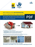 Dr. Fixit Waterproofing Guide Brochure