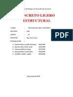 Concreto ligero estructural - Informe.pdf