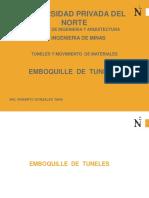 Emboquille de Tuneles