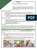 Report on Mega Health Camp at PHC Masani - 02.05.2019