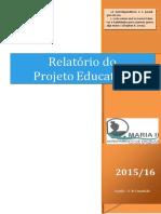 Relatório PEA 2015-2016