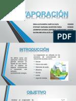 Diapositivas Evaporacion - Laboratorio