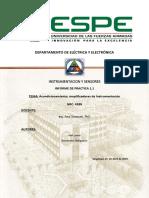 Informe1 Instrumentacion y sensores acondicionamiento de una señal