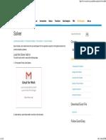 Excel Solver - Easy Excel Tutorial