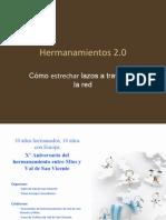 Hermanamientos 2.0 - Administración y empresas