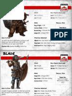ICRPG Alfheim Character Quick Archetypes
