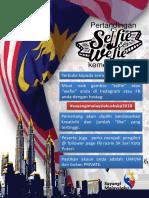 Poster Selfie Wefie Kemerdekaan