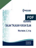 Asuransi Dalam Tinjauan Hukum Islam.pdf