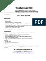 Iklan Account Executive - Copy
