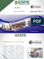 Investigación en Ingeniería Civil Mención en Estructuras 2019