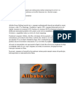 Tranzactii internationale cu servicii - ALIBABA
