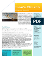 st germans newsletter - 5 may 2019 -  easter iii