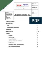 Engineering Design Guidelines - Butadiene Production Unit Rev01web
