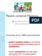 Patient Centered Medicineresident ปี 1 พศ. 57 Benjaporn