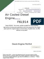 Deutz F6L914 _ 02931400 _ 04234638 _ 04236676 _ Deutz 914 Series _ Construction and Industrial Diesel Engine _ 62-85kW _ Engine Family (2)