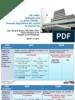Train Law Taxation