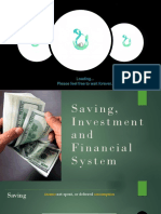 Macroeconomic (Saving and Investment)