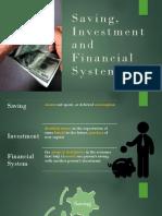Macroeconomic - Saving and Investment