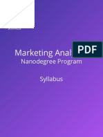 MARKETING ANALYTICAL NANO DEGREE