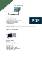 Daftar Peralatan Elektronika