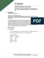Informe Del Supervisor Diciembre