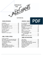 The Genius of the Jazz Giants Volume 1