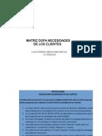 Instructivo Tecnica Matriz DOFA