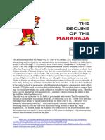 The Decline of Maharaja
