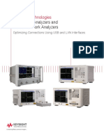 5992-1205EN Impedance Analyzers and Vector Network Analyzers Optimizing Connections Using USB and LAN Interfaces(Jan 2018)