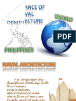 IMPORTANCE OF NAVAL ARCHITECTURE