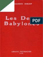 Alexander Hislop - Les deux Babylones.pdf