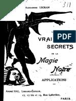 Alexandre Legran - Les vrais secrets de la magie noire.pdf