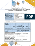 Guía de actividades y rúbrica de evaluación - Paso 4 - Tendencias y Aplicaciones de la Psicofisiología en el contexto..docx