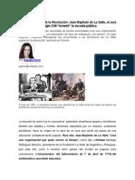 Revolución Antes de La Revolución_La Salle El Cura Francés Que en El Siglo XVII Invento La Escuela Pública