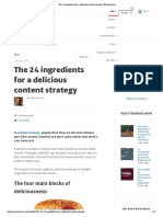 The 24 Ingredients for a Delicious Content Strategy _ Econsultancy